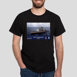 USS Lake Champlain CG-57 Dark T-Shirt