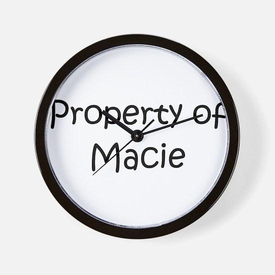 Unique Macie Wall Clock
