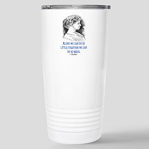 KELLER QUOTE Stainless Steel Travel Mug