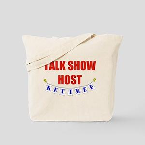 Retired Talk Show Host Tote Bag