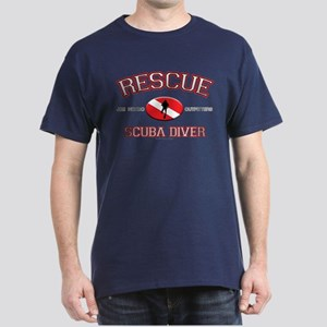 Rescue Scuba Diver Dark T-Shirt