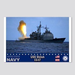 USS Shiloh CG-67 Postcards (Package of 8)