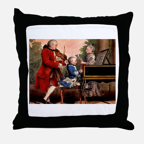 Music composers Throw Pillow
