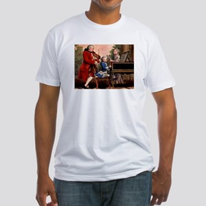 Music composers Fitted T-Shirt