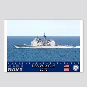 USS Vella Gulf CG-72 Postcards (Package of 8)
