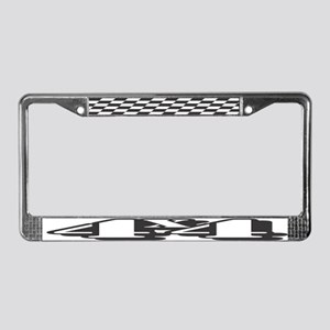4x4 Shadow Style License Plate Frame