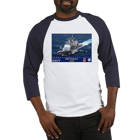 USS Yorktown CG-48 Baseball Jersey