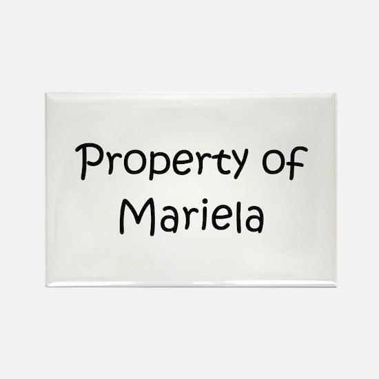 Funny Mariela Rectangle Magnet
