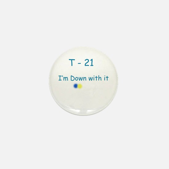 Down With It Mini Button