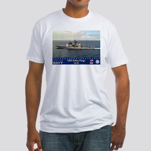 USS Valley Forge CG-50 Fitted T-Shirt