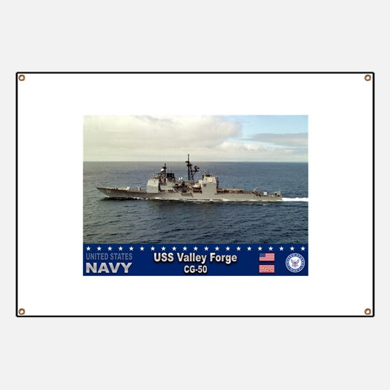 USS Valley Forge CG-50 Banner