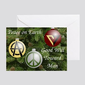 Anarchist Holiday Greeting Card