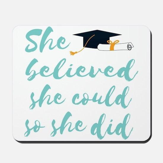 Graduation gift Mousepad