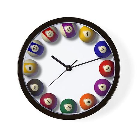 Large Billiard Clock