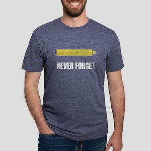 Never Forget Slide Rules 2 Women's Dark T-Shirt