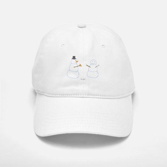 Snowman Donor The Gift Baseball Baseball Cap
