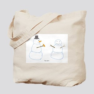 Snowman Donor The Gift Tote Bag
