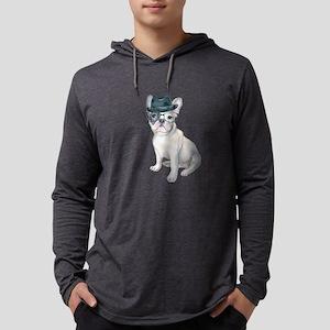 Frenchie French Bulldog Gangst Long Sleeve T-Shirt