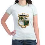 USS EUGENE A. GREENE Jr. Ringer T-Shirt