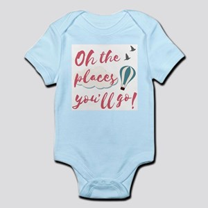 """Graduation gift """"Oh the places you& Body Suit"""