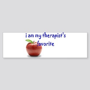 therapist's favorite Bumper Sticker