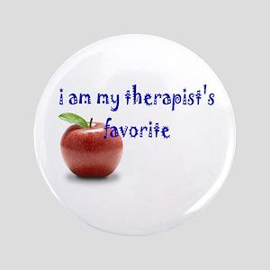 """therapist's favorite 3.5"""" Button"""