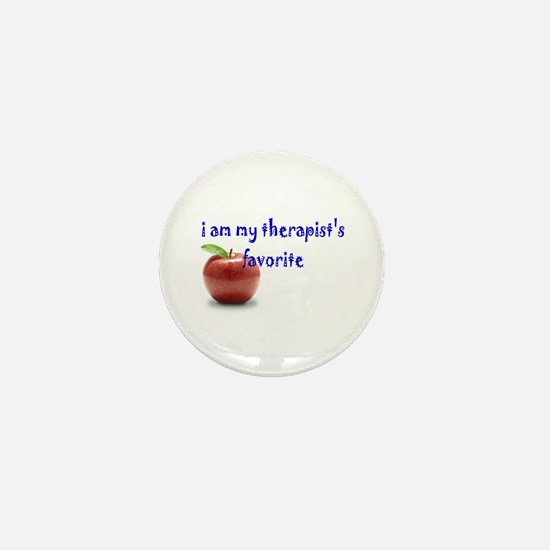 therapist's favorite Mini Button