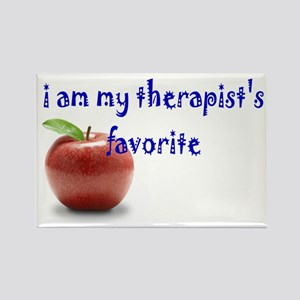 therapist's favorite Rectangle Magnet