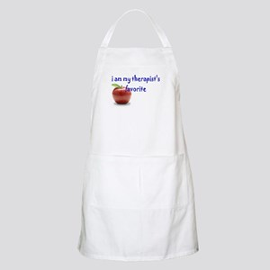 therapist's favorite BBQ Apron