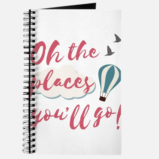 "Graduation gift ""Oh the places you&#3 Journal"