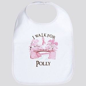 I walk for Polly (bridge) Bib