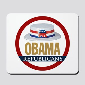 GOP for Obama 2008 Mousepad