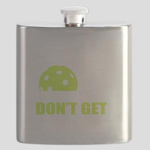 Dink Responsibly Funny Pickleball T-Shirt Flask