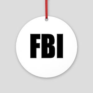 FBI Keepsake (Round)