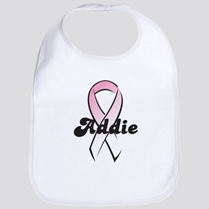 Addie Pink Ribbon Bib