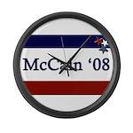 McCain '08 Large Wall Clock