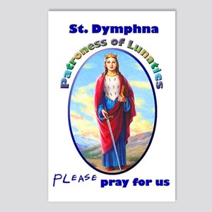 St. Dymphna Postcards (Package of 8)