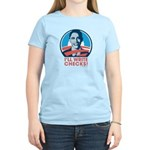 Obama: I'll Write Checks! Women's Light T-Shirt