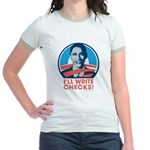 Obama: I'll Write Checks! Jr. Ringer T-Shirt