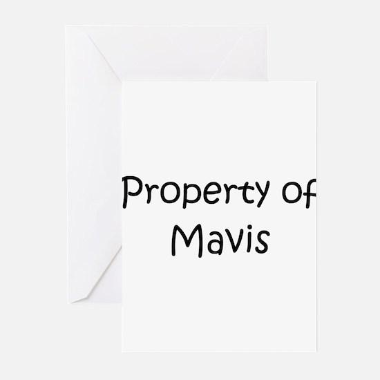 Mavis Greeting Cards (Pk of 20)