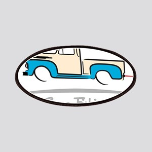 1952 Ford Pickup Gone Fishing Patch