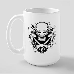 Piston Pistoff -splat Large Mug