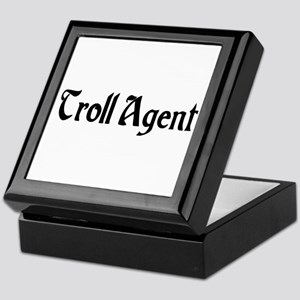 Troll Agent Keepsake Box