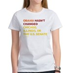 Obama Hasn't Changed Anything Women's T-Shirt