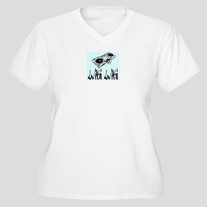 Wiki Wiki Women's Plus Size V-Neck T-Shirt