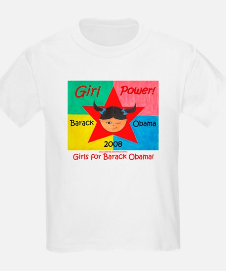 Girls for Barack Obama T-Shirt