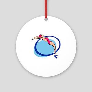 Springboard Ornament (Round)