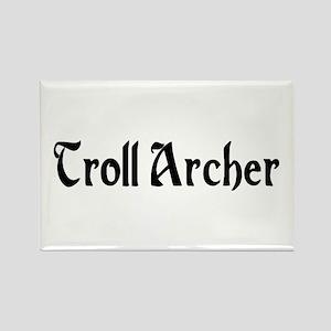 Troll Archer Rectangle Magnet