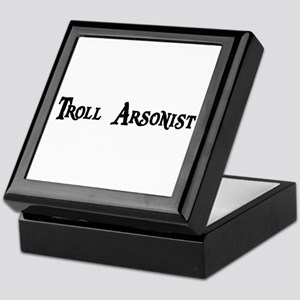 Troll Arsonist Keepsake Box