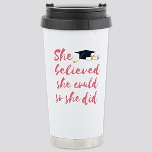Graduation gift Stainless Steel Travel Mug